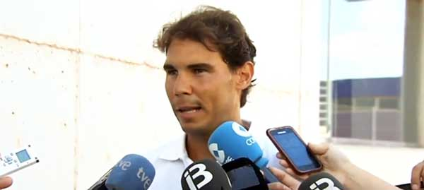 """Rafa Nadal: """"Entre el viernes y el sábado se tomará la decisión"""""""