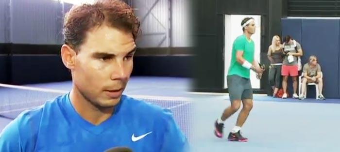 """Rafael Nadal: """"Estoy bien y el mal está muy muy reducido"""""""