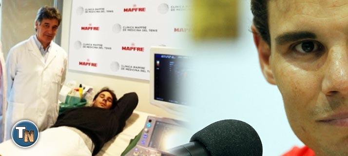 Rafa Nadal pasa revisión en España, se recupera satisfactoriamente