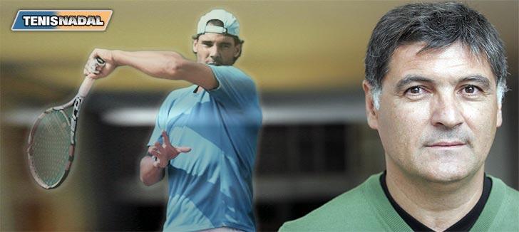 """Toni Nadal: """"Rafael corría antes más que los demás, ahora no"""""""