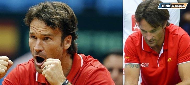 """Carlos Moyá: """"Si traes a Rafa y Ferrer, da igual el capitán de Copa Davis que pongas"""""""