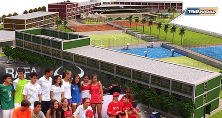 """Comienza la construcción del """"Rafa Nadal Sports Centre"""""""