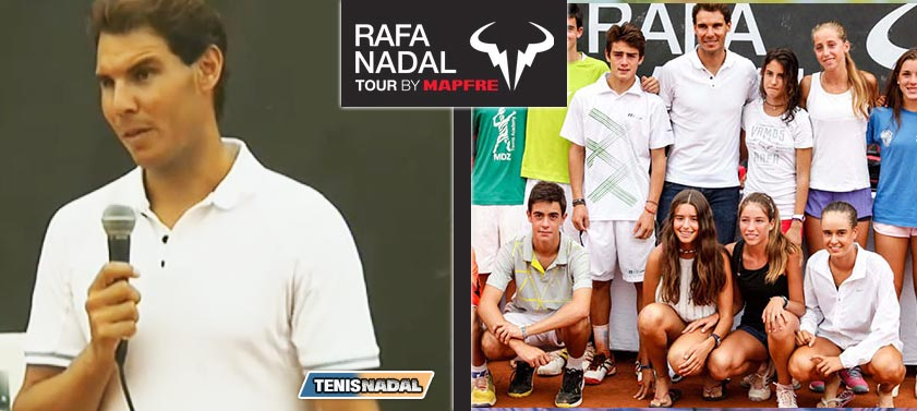 Documental Rafa Nadal Tour 2014 por RTVE