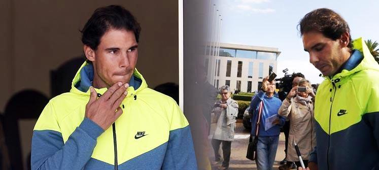 """Rafa Nadal: """"Mi objetivo ahora mismo es irme a casa y dejar de tener dolor"""""""