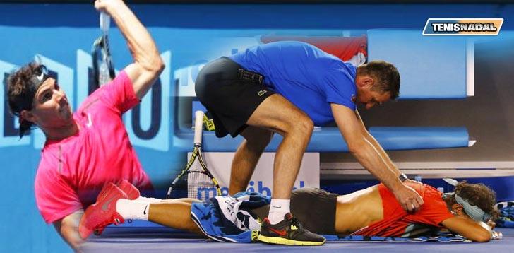 """Rafa Nadal: """"Tengo una articulación de la espalda un poco tocada"""""""