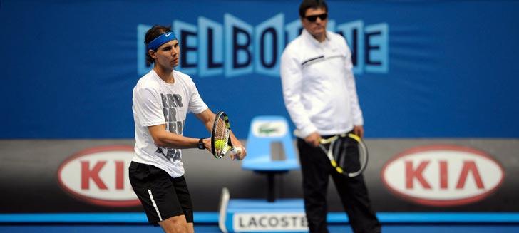 """Toni Nadal: """"A Rafael le hacía ilusión [participar en el Masters de Londres]"""""""