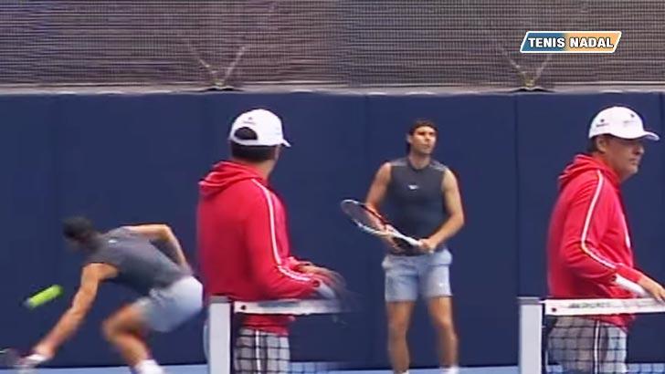 """Toni Nadal: """"Este año vamos con muchas ganas... Rafa está respondiendo, no nay dolores"""""""