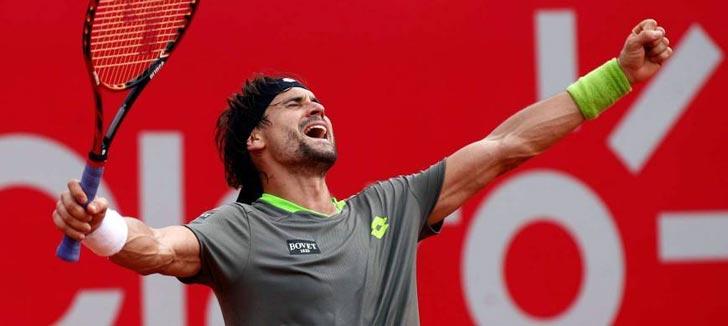 David Ferrer se proclamó campeón en el ATP Buenos Aires 2015 (Imagen Archivo)