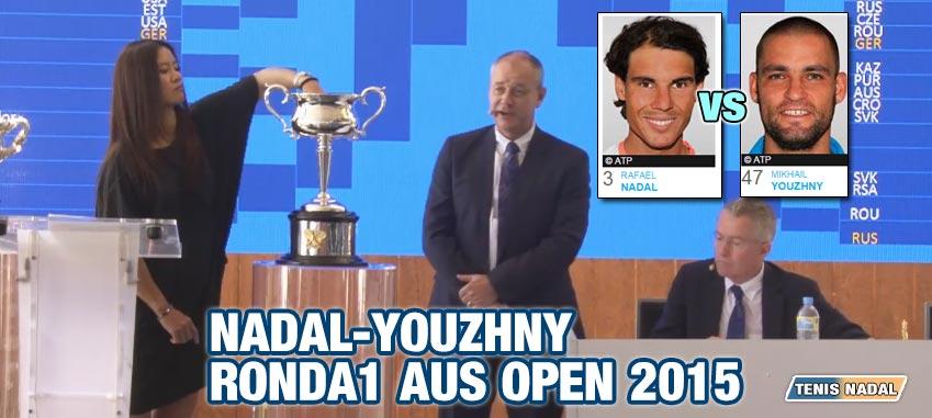 Debut nada fácil para Nadal en el Open Australia 2015