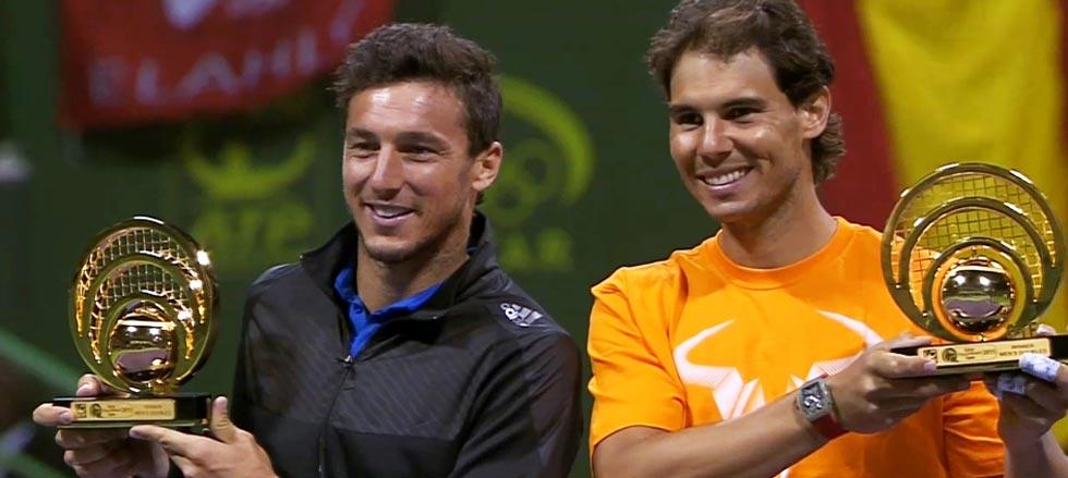 Primer título para Nadal en 2015, campeón en dobles de Doha