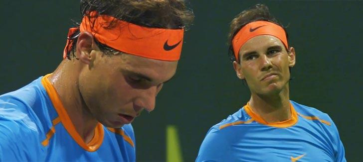 """Rafael Nadal: """"Hay mucho margen de mejora, seguro que voy a volver"""""""