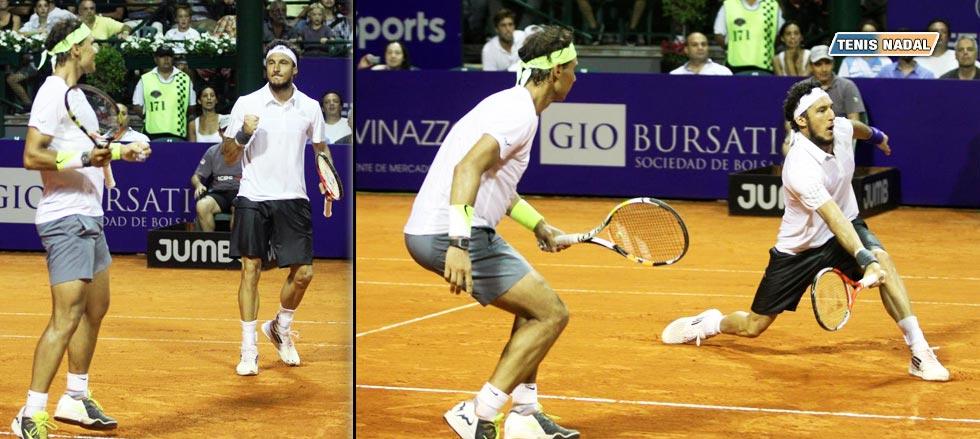 """Nadal debuta ganando en dobles: """"Físicamente estoy bien, con una gran motivación"""""""