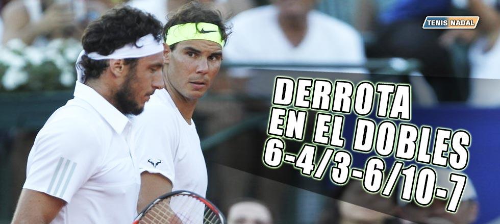 Nadal y Mónaco eliminados en el dobles de Buenos Aires