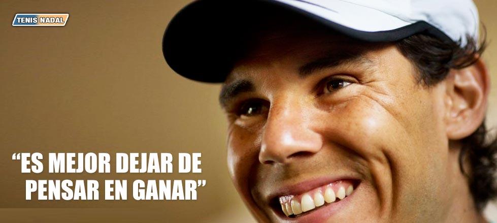 """Rafael Nadal: """"Cada rival puede mandarme al siguiente lugar... estaré atento al máximo"""""""