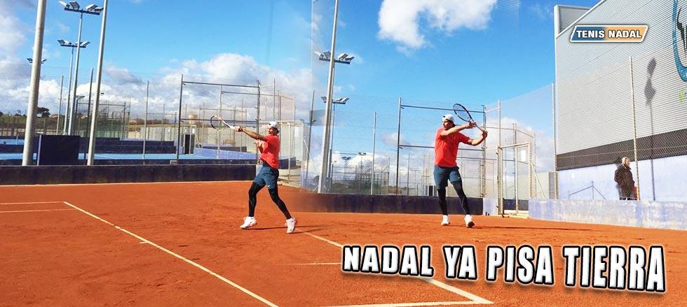 Rafael Nadal confía en la tierra para recuperar la confianza