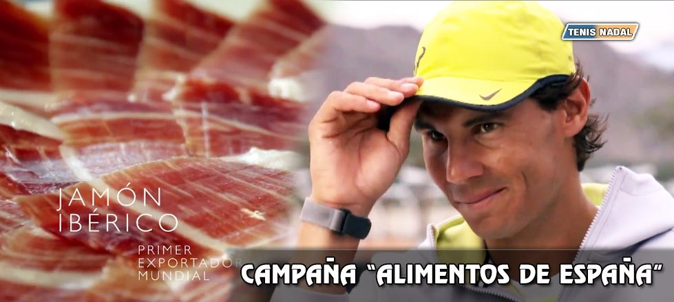 """Rafa Nadal, imagen internacional para """"Alimentos de España"""""""