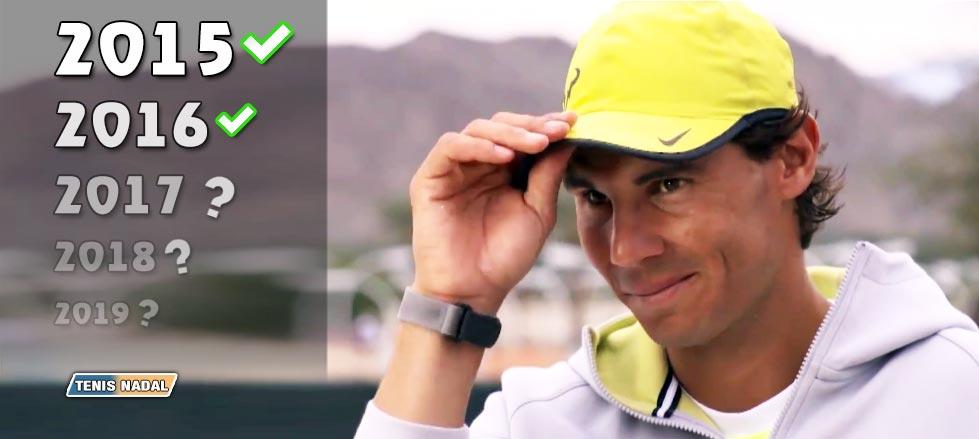"""Rafael Nadal: """"Me siento preparado para competir bien unos años"""""""