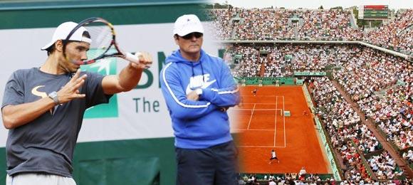 Toni Nadal cree que Rafael volvera a su mejor nivel tras ganar algunos partidos importantes