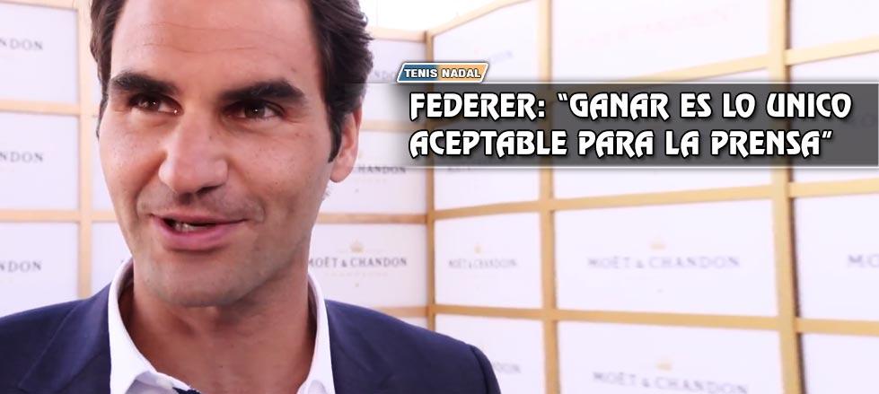 "Federer: ""Sin Novak, Rafa es el favorito en Madrid"""