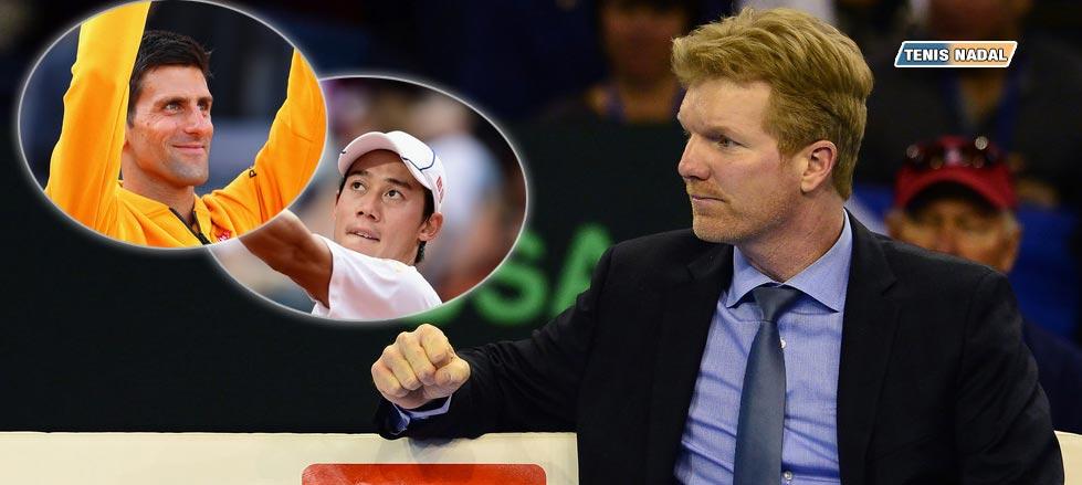 """Jim Courier: """"Mi primer favorito en París es Djokovic y el segundo es Nishikori"""""""