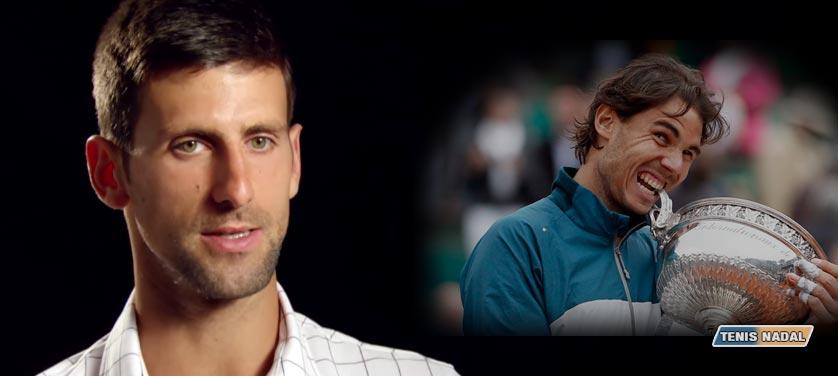 """Novak Djokovic: """"Nadal llegará en su mejor forma a Roland Garros"""""""