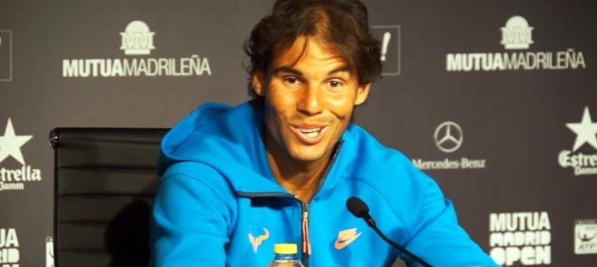 "Rafael Nadal: ""Si en Roma juego como ayer con Berdych, seré competitivo contra todos"""
