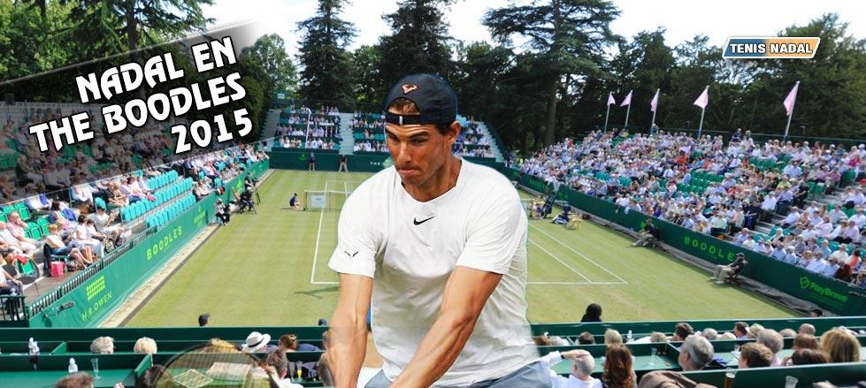 Rafa Nadal disputará The Boodles como preparación para Wimbledon