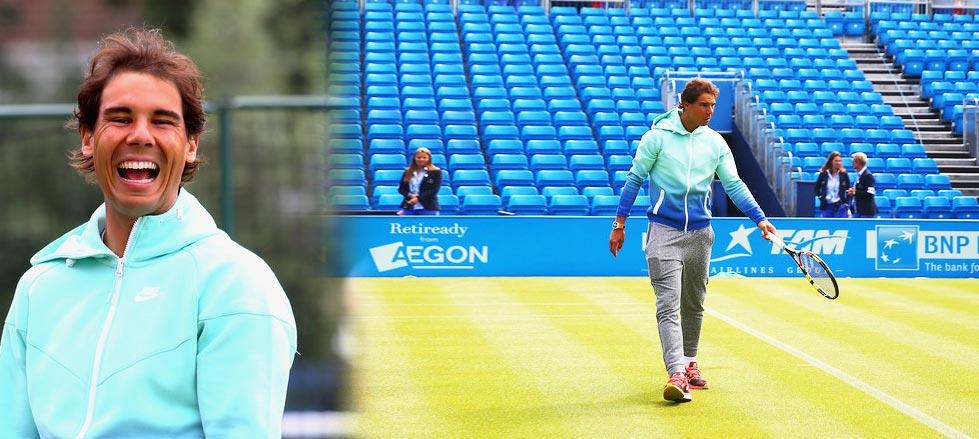 """Rafael Nadal: """"Puedo hacerlo mejor en la segunda parte del año"""""""