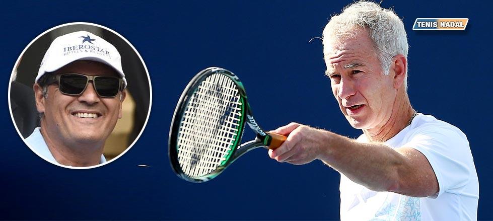 """John McEnroe: """"Ha llegado la hora de que Rafa contrate a un maldito nuevo entrenador"""""""