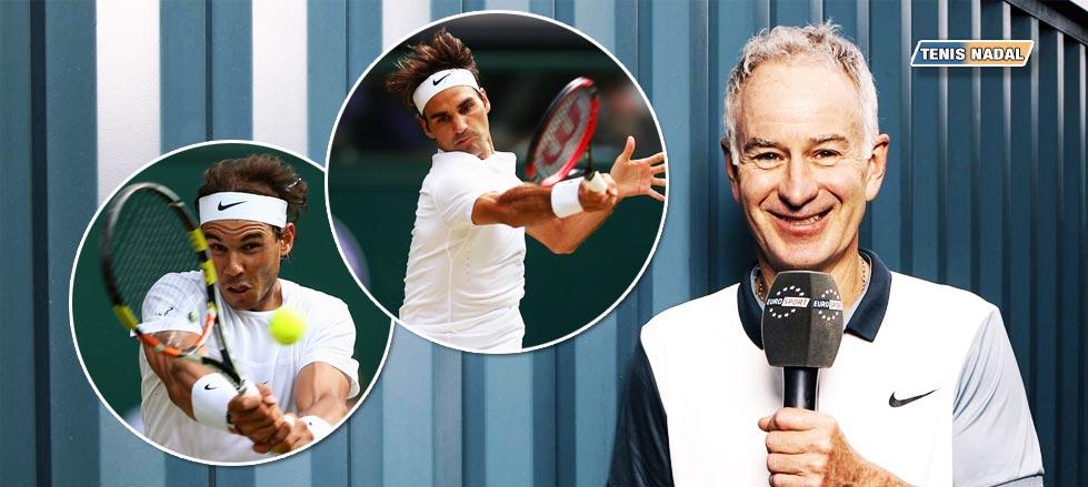 McEnroe rectifica. Federer es el mejor de la historia, no Nadal.