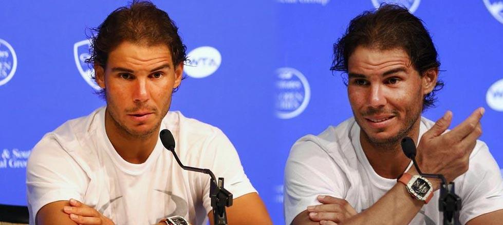 """Rafael Nadal: """"Más que resultados, quiero terminar el año con buenas sensaciones"""""""