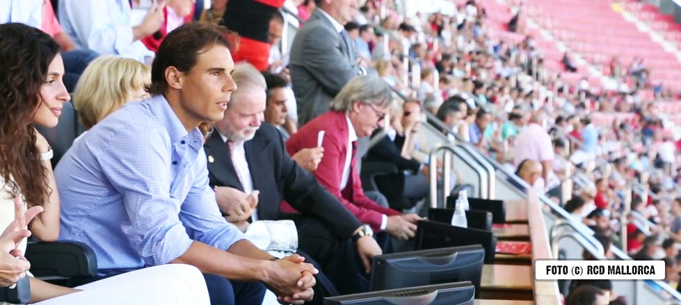 El fútbol guardó un minuto de silencio por el abuelo de Rafa Nadal