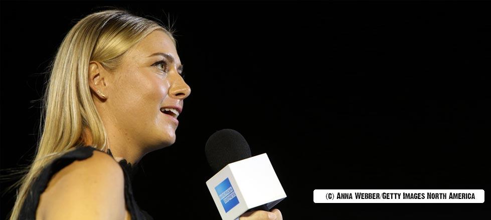 Maria Sharapova vuelve a pedir a los medios, respeto por Nadal