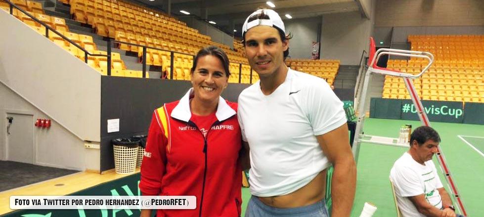"""Rafael Nadal: """"Los partidos de Copa Davis fuera de casa siempre son duros"""""""