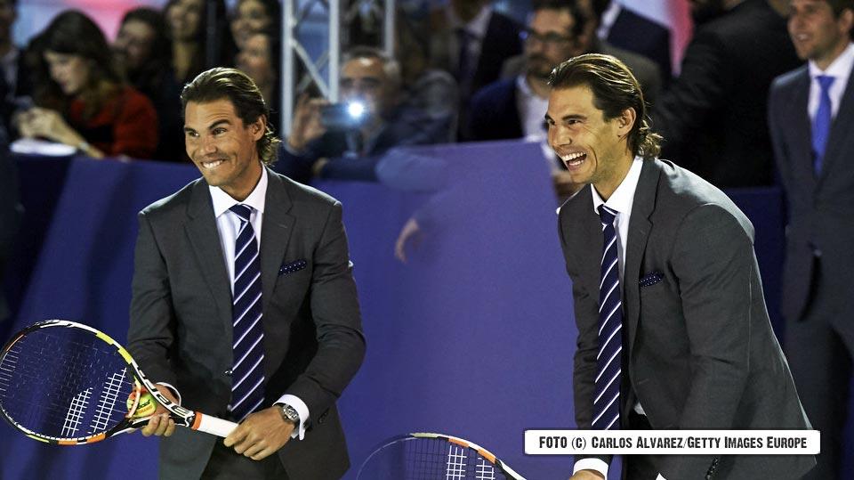 """Rafa Nadal: """"Si uno es feliz, puede correr más, jugar mejor y ganar más"""""""